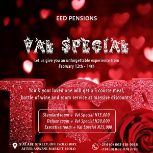 Valentine Day Special | Lagos Airport Hotel